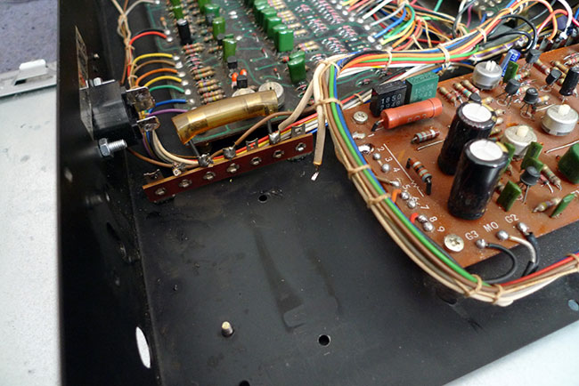 TR77 power supply replacement