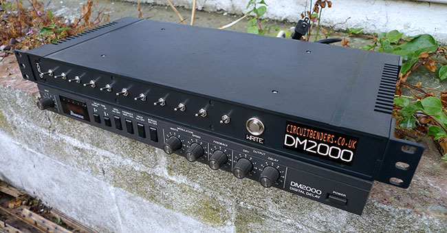 modified Ibanez DM2000