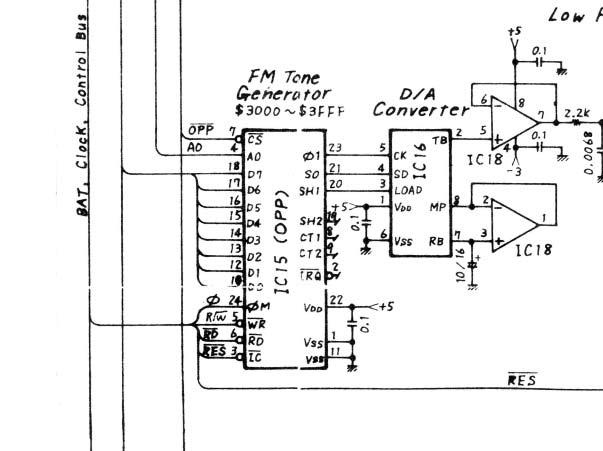 Yamaha Dx Power Supply
