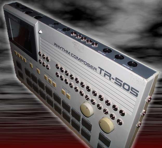 Royalty free tr505 sounds, vintage drum machine beats, 12bit drum.