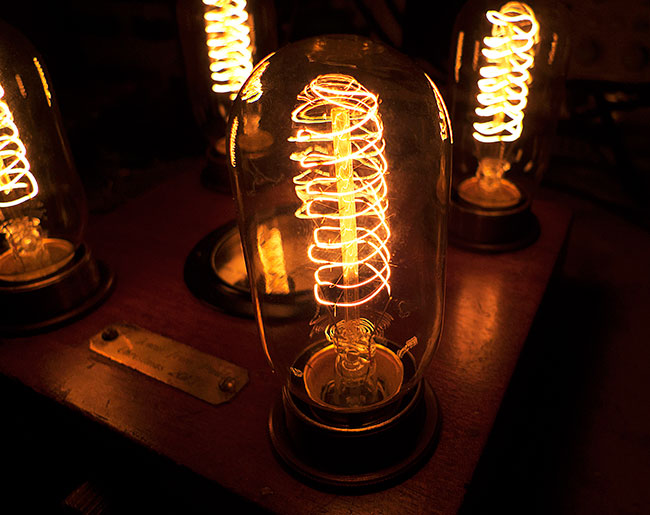 Steampunk bulbs
